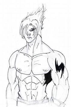 Draw Teken Character Easy apk screenshot
