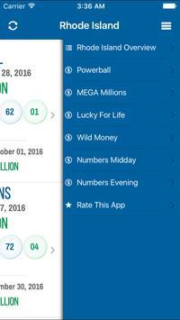Lottery Results - Rhode Island screenshot 1