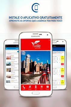 Ville Viagens e Turismo poster