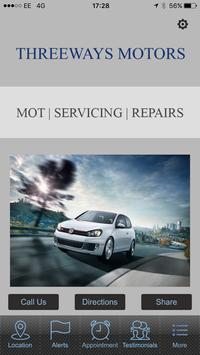 Threeways Motors poster