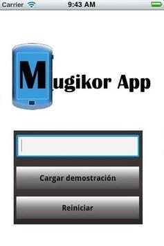 visualizador mugikor app screenshot 1