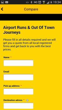 Doncaster Taxi App apk screenshot