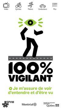 100% vigilant poster