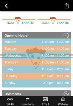 Pizza Fanatic Online Ordering poster