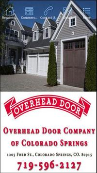 Overhead Door Colorado Springs poster