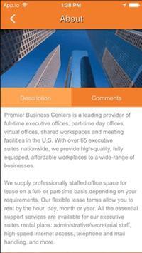 Premier Business Centers apk screenshot