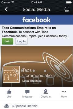 Taos Communications Empire apk screenshot