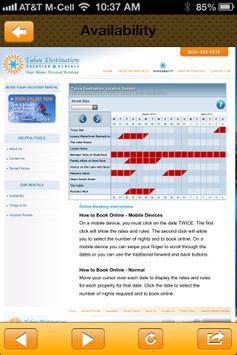 TahoeRentals apk screenshot