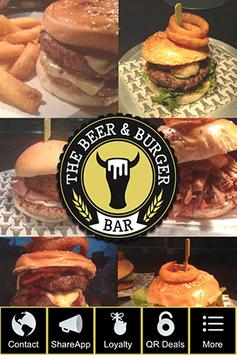 The Beer & Burger Bar poster