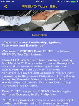 PREMO Team Elite screenshot 7