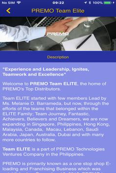 PREMO Team Elite screenshot 2