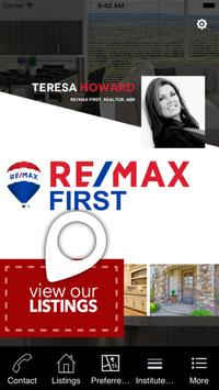 Teresa Howard Remax First poster