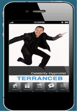 Terrance B Comedic Hypnotist poster