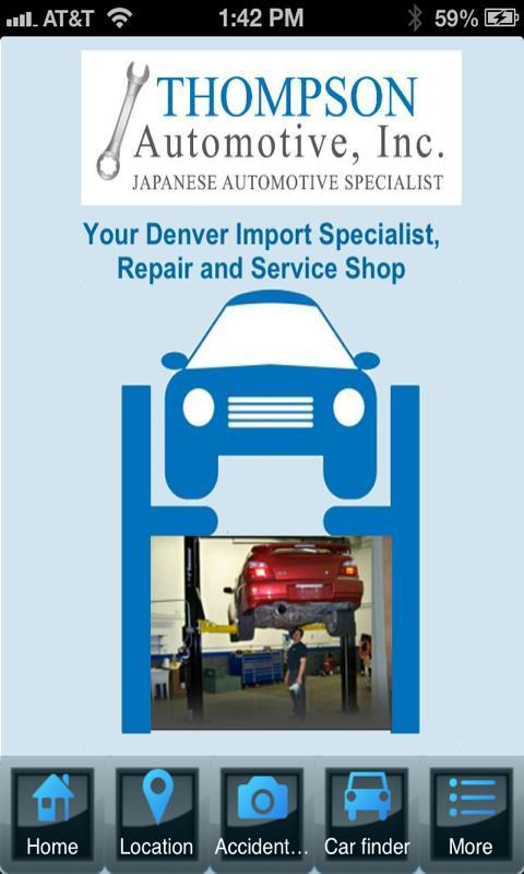 Thompson Automotive poster