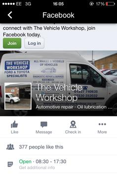 The Vehicle Workshop apk screenshot