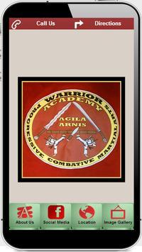 The warrior Academy llc poster