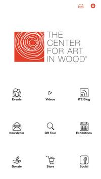 The Center for Art in Wood poster
