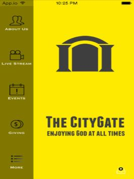 The City Gate poster