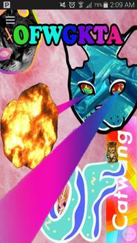 ODD FUTURE APP poster