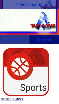 The Game - (Sports TV, 24/7) apk screenshot