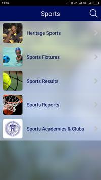 The Heritage School-Zimbabwe apk screenshot