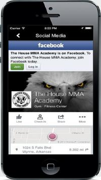 The House MMA Academy screenshot 1