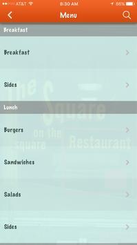 The Square Restaurant apk screenshot