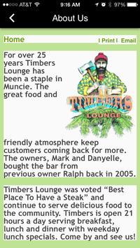 Timbers Lounge apk screenshot