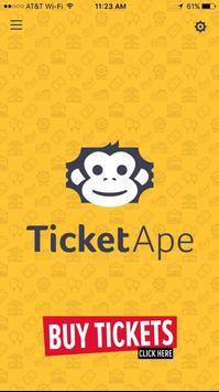 TicketApe poster