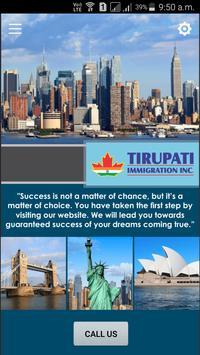 Tirupati Immigration poster