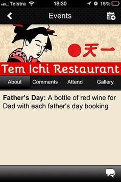 Tem Ichi Japanese Restaurant screenshot 4