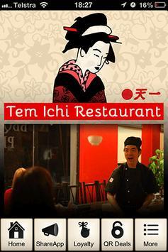 Tem Ichi Japanese Restaurant poster