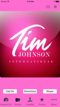Tim Johnson International poster