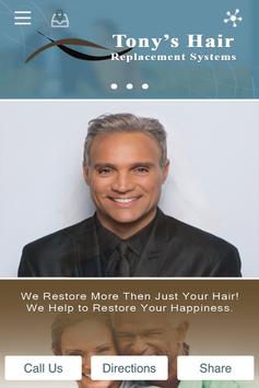 Tonys Hair Replacement Systems poster