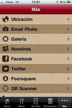 Tony Roma´s Guatemala apk screenshot