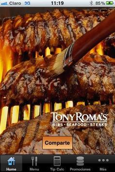 Tony Roma´s Guatemala poster
