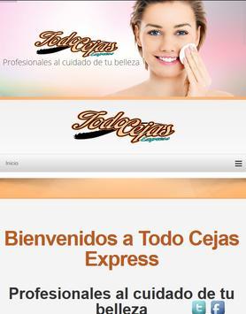 Todo Cejas Express apk screenshot