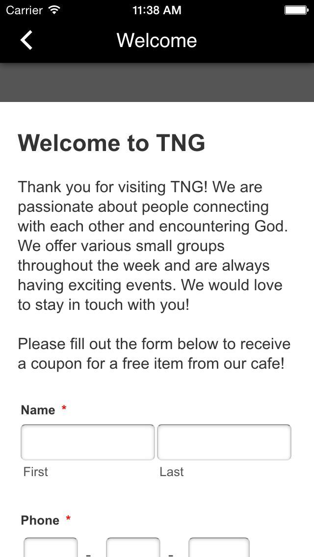 TNG Community poster