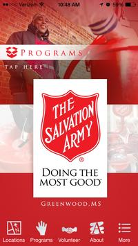 The Salvation Army Greenwood poster