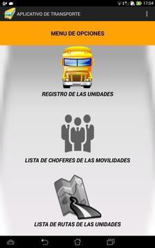 App_Transporte iPRISCO poster