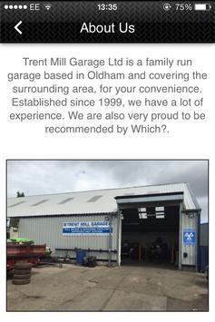 Trent Mill Garage Ltd screenshot 1