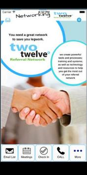 Two Twelve Referral Network poster