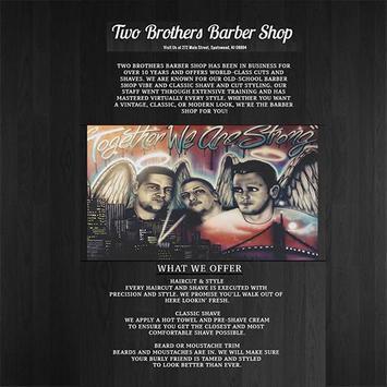 Two Brothers Barber Shop apk screenshot