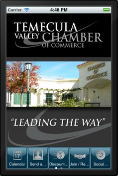 Temecula Chamber of Commerce poster