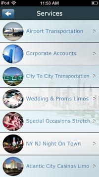 United Limousine screenshot 5