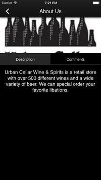 Urban Cellar Wine & Spirits screenshot 2