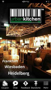 urban kitchen poster