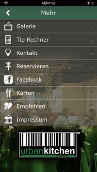 urban kitchen apk screenshot