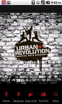 Urban Revolution Martial arts poster
