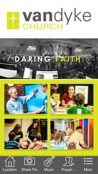 Van Dyke Church poster